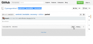 Screenshot-android_bootable_recovery-parted at cm-11.0 · CyanogenMod-android_bootable_recovery · GitHub - Google Chrome