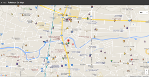 Screenshot-Pokémon Go Map - Mozilla Firefox